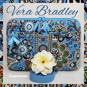 Vera Bradley Tablet Case Quilted Hard Shell Travel